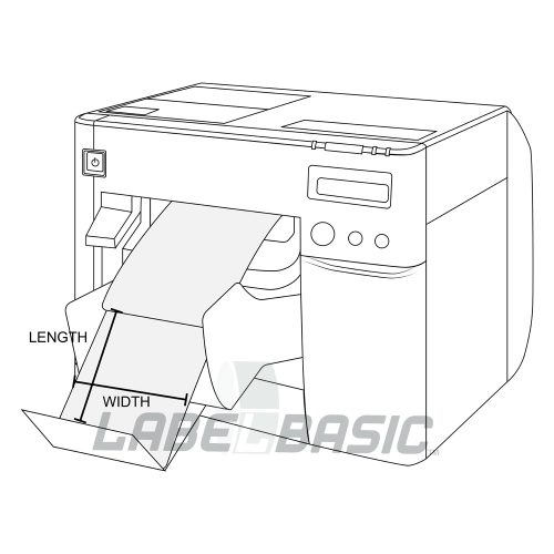 Epson ColorWorks C3500 Width x Length