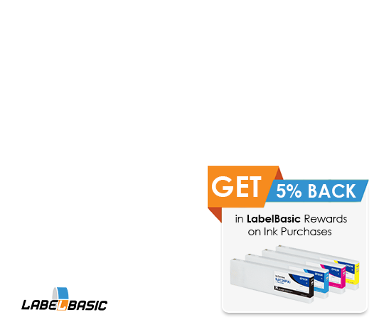 Get 5% back in LabelBasic Rewards on Ink Purchases